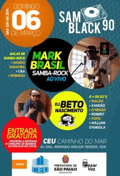 Samblack 90 acontece no próximo domingo na ZS de Sampa #nota