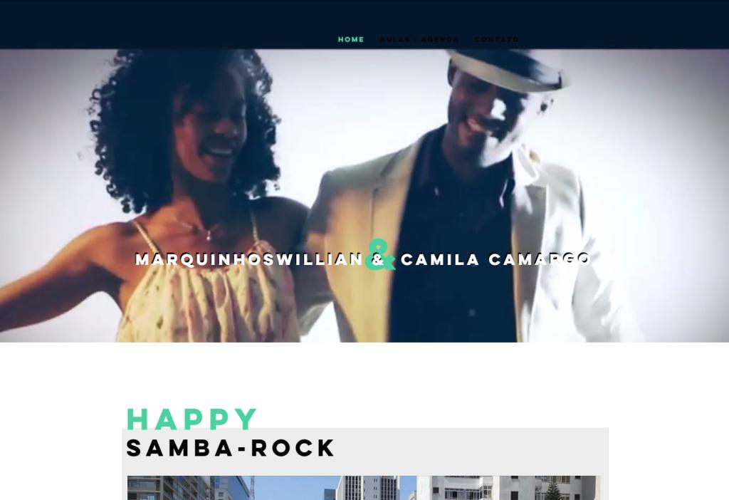 Casal Camila Camargo e Marquinhos William lançam site #nota