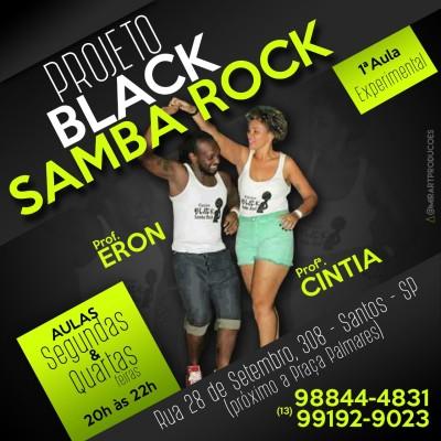 Faça aulas de samba rock em Santos com os professores Cintia e Eron #nota