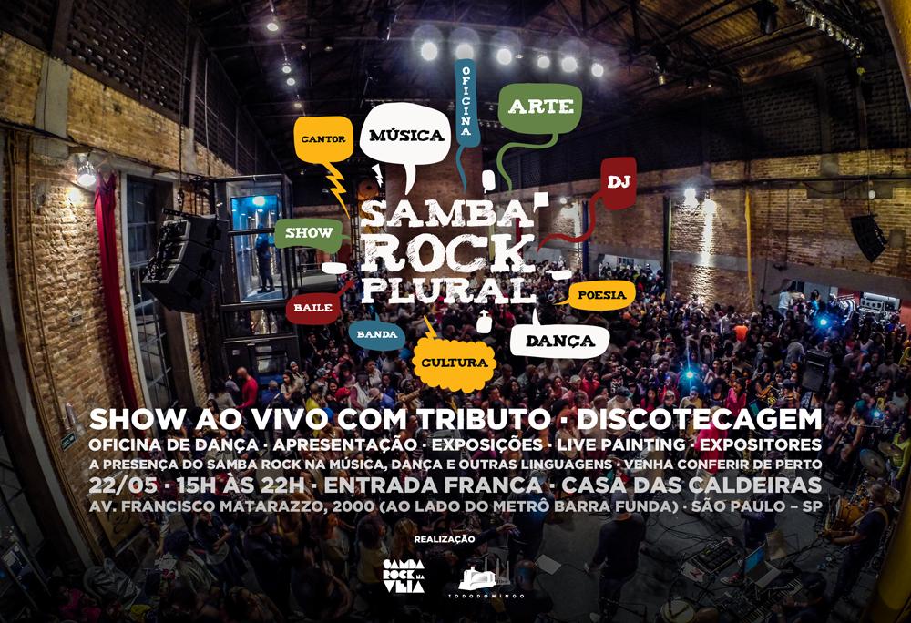 Samba Rock Plural em maio faz tributo a Noriel Vilela e vem repleto de atrações