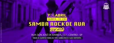Samba Rock de Rua começa às quintas no Centro #nota