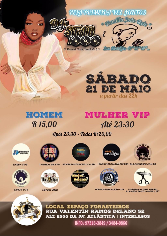 DJ Star 1000 e Família João Reis realizam baile juntos #nota