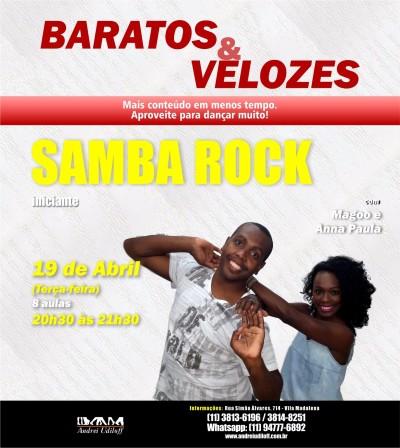 Anna Paula e Magoo oferecem aulas de samba rock para quem tem pressa em aprender #nota