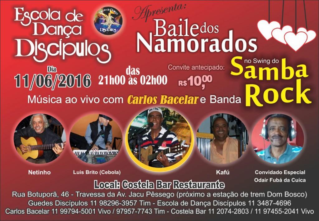 Baile dos Namorados na Escola de Dança Discípulos #nota