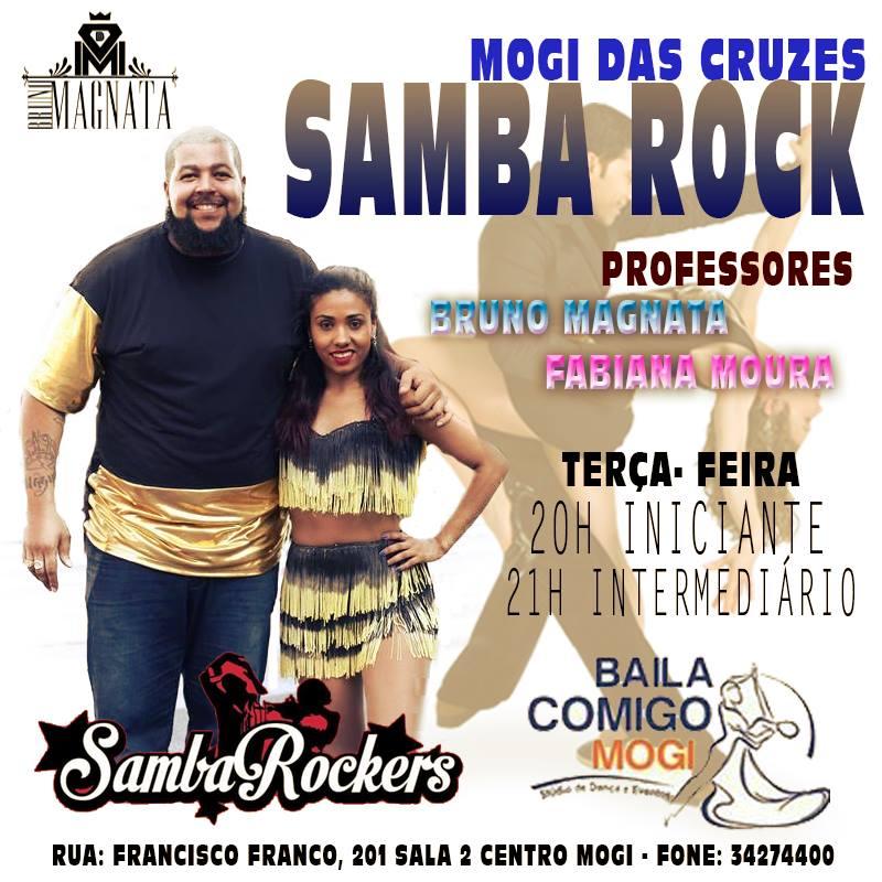 Mogi das Cruzes tem aulas semanais de samba rock com Fabiana e Bruno #nota