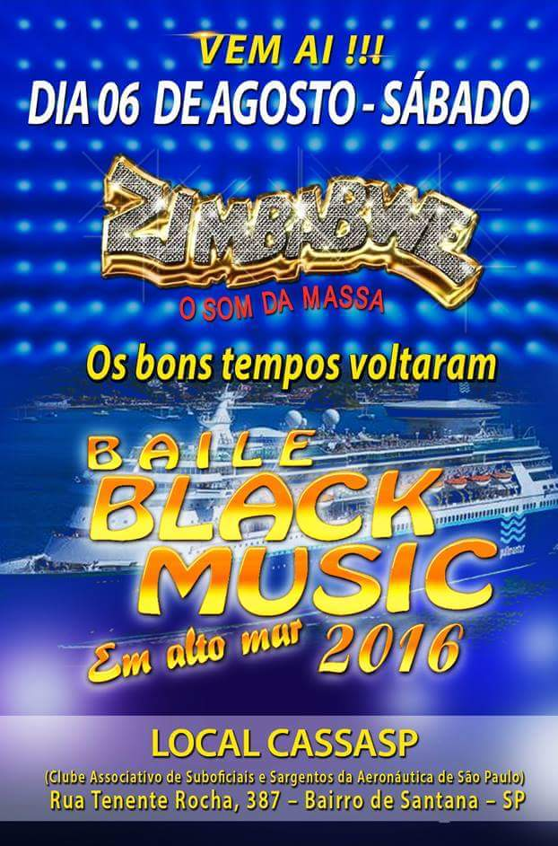 Equipe Zimbabwe realiza Baile Black Music no CASSASP #nota