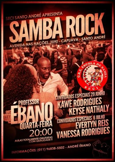 Faça aulas grátis de samba rock com o professor Ébano #nota