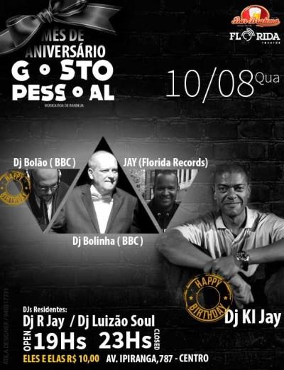 Projeto Gosto Pessoal traz os DJs Bolão, Bolinha, Jay e KL Jay dos Racionais #nota