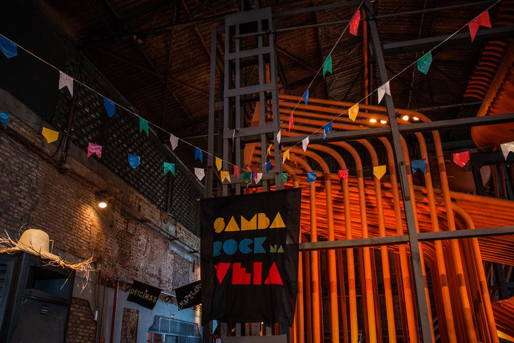 Fotos | Samba Rock Plural em clima de arraial na Casa das Caldeiras