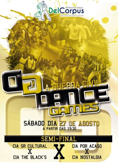 Semi-final da batalha de dança Dance Games acontecerá no fim de agosto #nota