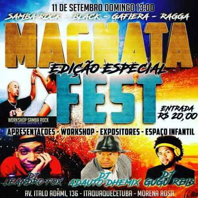 Magnata Fest acontece no mês de setembro em Itaquaquecetuba  #nota