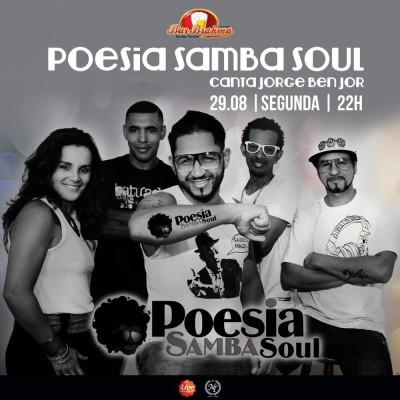 Poesia Samba Soul canta Jorge Ben Jor no Bar Brahma #nota
