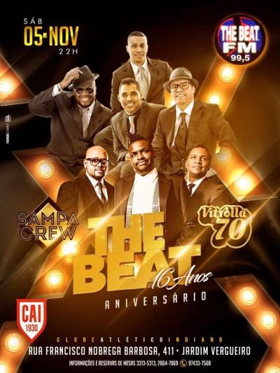 Aniversário de 16 anos da equipe The Beat traz ao palco Vitrolla 70 e Sampa Crew #nota