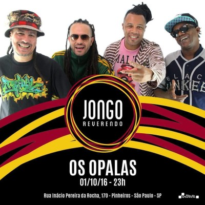 Jongo Reverendo recebe show da banda Os Opalas #nota