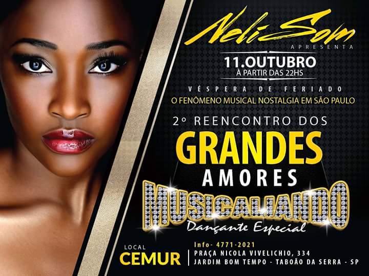 Musicaliando promove Reencontro dos Grandes Amores em Taboão da Serra #nota