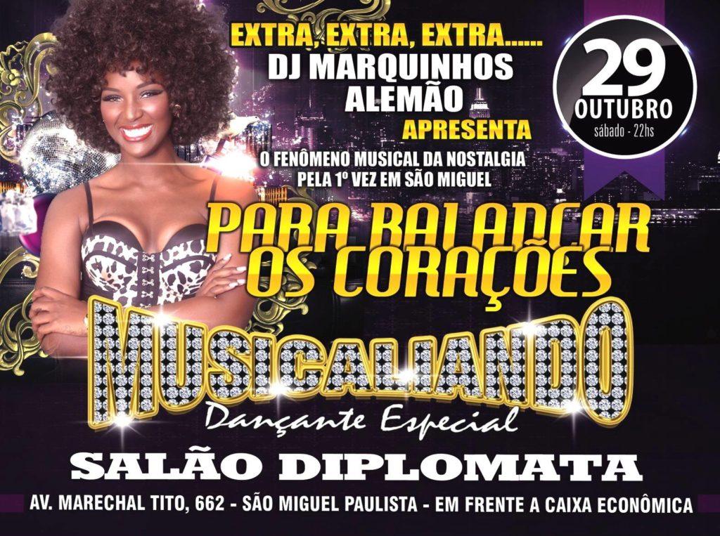Musicaliando na ZL de São Paulo acontecerá no Salão Diplomata #nota