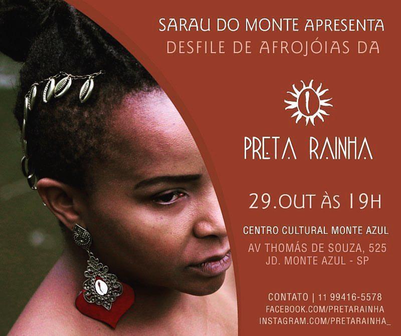 Sarau do Monte apresenta desfile e outras atividades no Centro Cultural Monte Azul #nota
