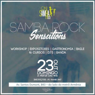 Segunda edição do oN! Samba Rock Sensations acontece no final de outubro