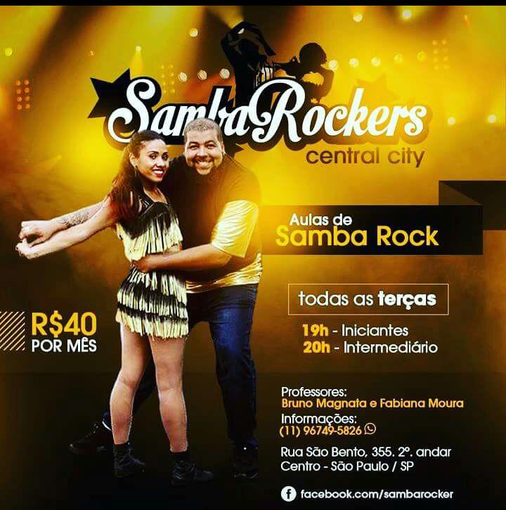 Faça aulas de samba rock com Fabiana Moura a Bruno Magnata #nota