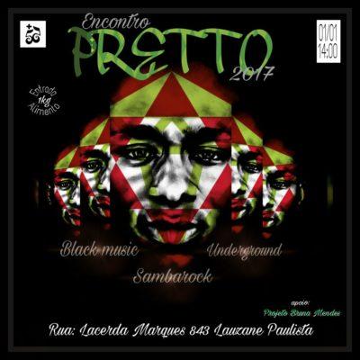 No primeiro dia de 2017 acontece o Encontro Pretto sob comando do DJ Fox #nota