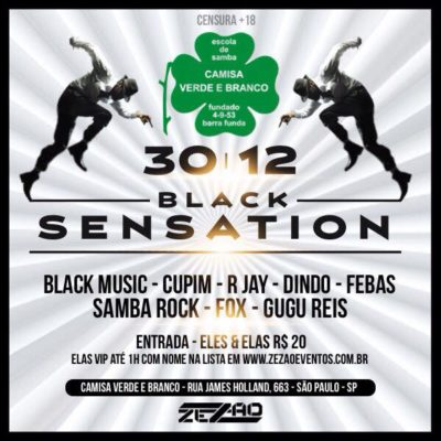 Black Sensation leva black music à quadra do Camisa Verde e Branco #nota
