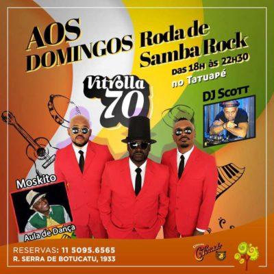 Aos domingos Tatuapé recebe Vitrolla 70, DJ Scott e professor Moskito #nota