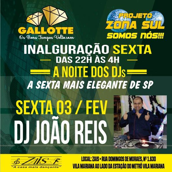 Projeto Zona Sul Somos Nós tem inauguração ao som do DJ João Reis #nota