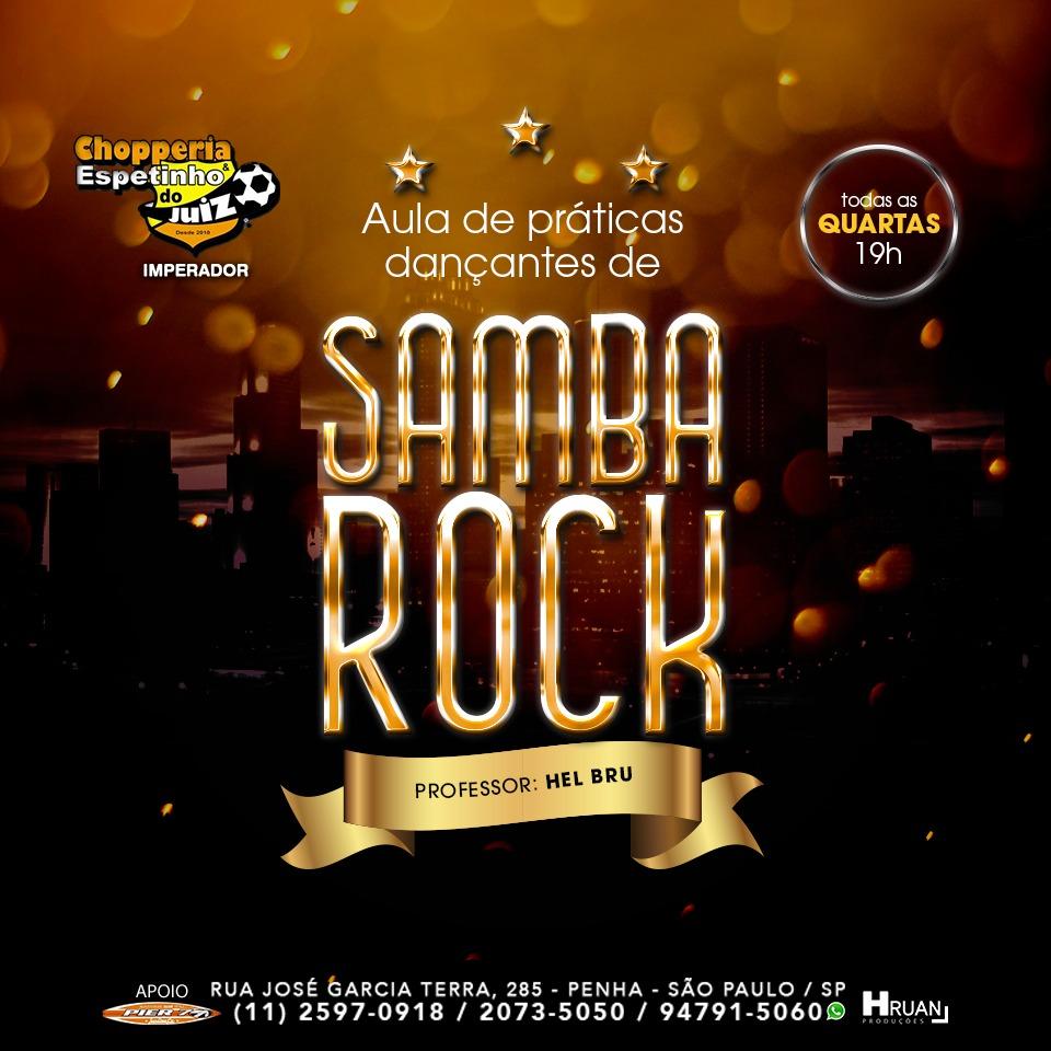 Faça aula de samba rock toda quarta na zona leste de SP #nota