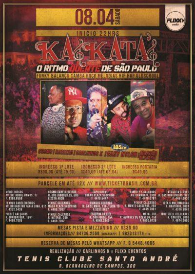 Equipe Kaskata's realiza baile em abril com seleto grupo de DJs #nota