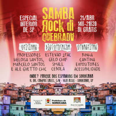 Samba Rock Di Quebrada realiza em Sorocaba sua primeira edição no interior de SP