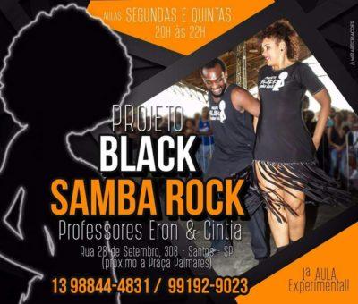 Faça aulas de samba rock na baixada santista com os professores Cintia e Eron #nota