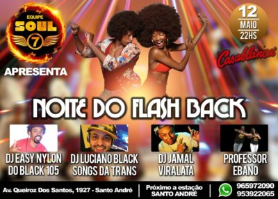 Noite do Flash Back no Casablanca em Santo André #nota
