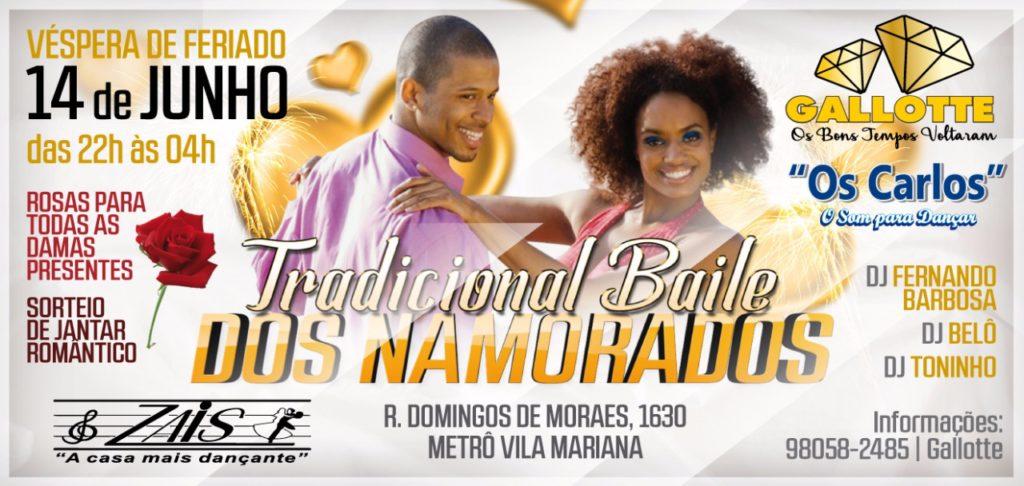 Zais recebe Tradicional Baile dos Namorados com equipes Gallotte e Os Carlos #nota