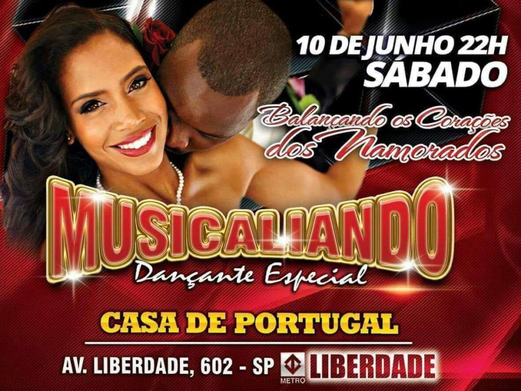 Baile dos Namorados com equipe Musicaliando na Casa de Portugal em junho #nota