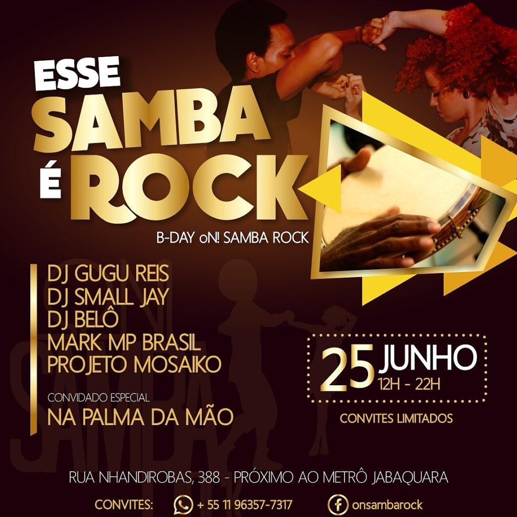 Esse Samba É Rock comemora 1 ano de rede oN! Samba Rock