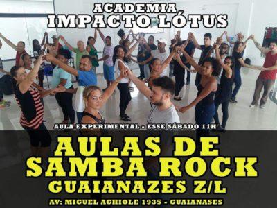 Faça aulas de samba rock em Guaianazes; Zona leste de SP #nota