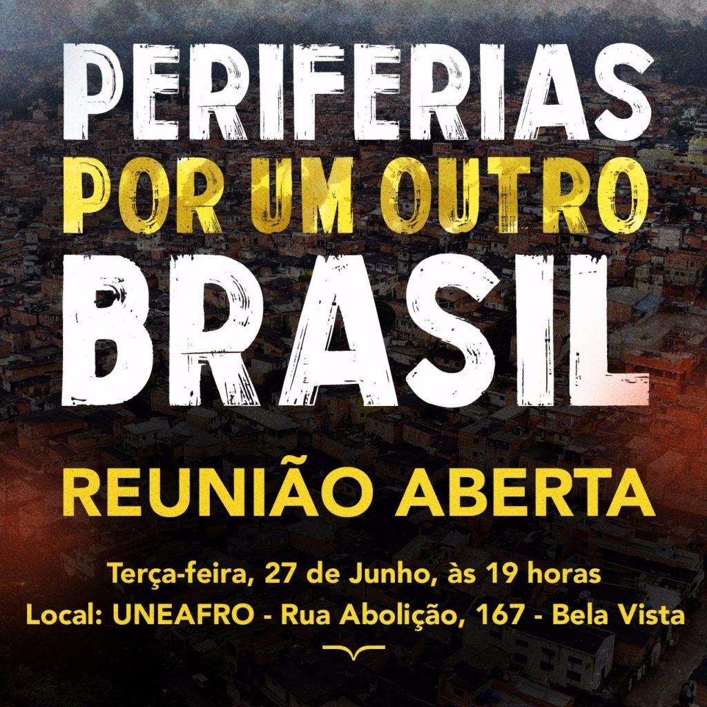UNEAFRO promove reunião aberta para discutir causas periféricas #nota