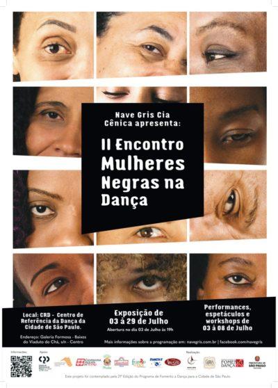 Será durante o mês de julho o II Encontro de Mulheres Negras na Dança #nota
