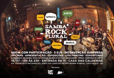 Samba Rock Plural reúne Vitrolla 70 e Tássia Reis em programação repleta de atrações; Neste domingo