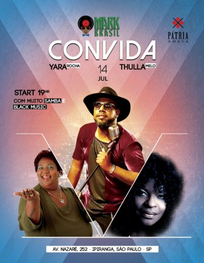 Mark MP Brasil realiza show com participações especiais de Yara Rocha e Thulla Melo #nota