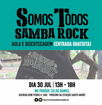 Somos Todos Samba Rock ocupa parque público em Santo André #nota