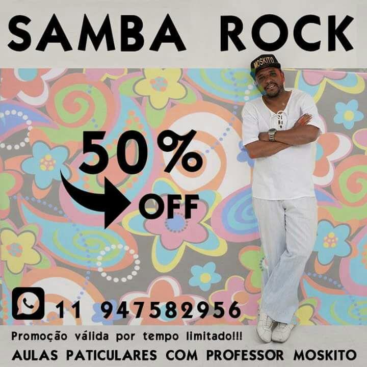 Faça aulas particulares de samba rock com o Professor Moskito  #nota