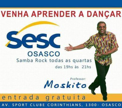 Professor Moskito dá aulas no SESC Osasco às quartas #nota