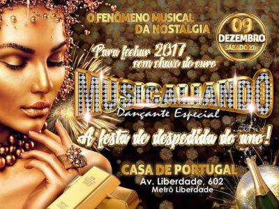 Musicaliando realiza A festa de despedida do ano! na Casa de Portugal #nota