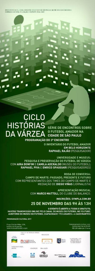Museu do Futebol recebe Ciclo Histórias da Várzea com show de Marco Mattoli #nota