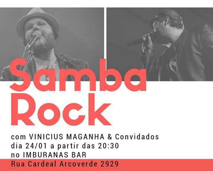 Samba rock na Vila Madalena com Vinicius Maganha e convidados #nota