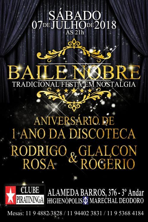 Clube Piratininga recebe Baile Nobre; Tradicional festa em nostalgia #nota