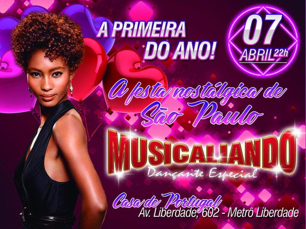 A festa nostálgica de São Paulo vem aí com a equipe Musicaliando na Casa de Portugal #nota