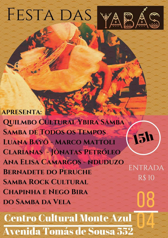 Festa das Yabás difunde a cultura do samba rock e outras vertentes com várias atrações #nota