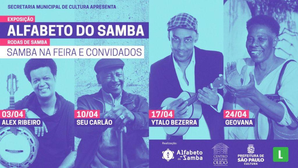 Geovana integra projeto Samba na Feira e convidados na Galeria Olido com entrada franca #nota